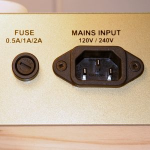 Mains + fuses