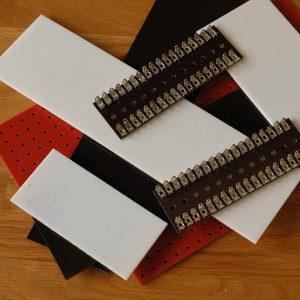 Turret board + tag strip